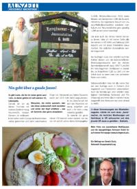 2013 08 22 Auszeit Mitarbeiterzeitung Reisewelt Brettljausenbericht