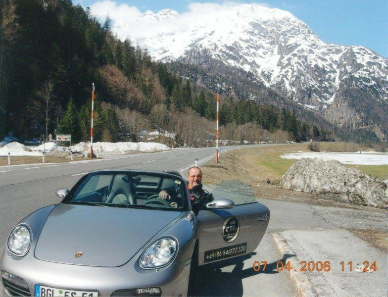 Fahrt mit Porsche 911