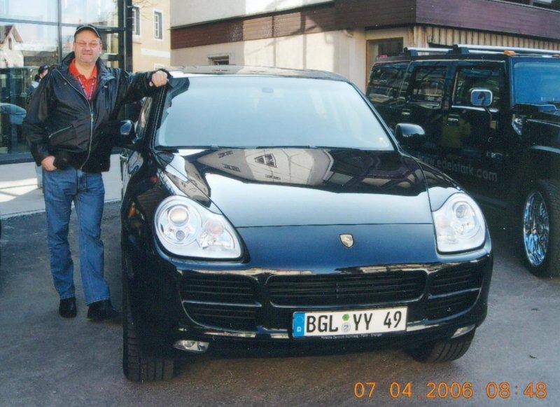 Fahrt mit Porsche Cayenne