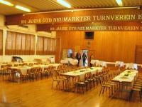 Das Turnerheim ist vorbereitet