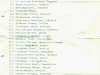 HS Klassentreffen Schülerliste