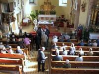Kommunion während der Messe