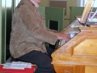 Organist und ehemaliger Lehrer Hans Seifried