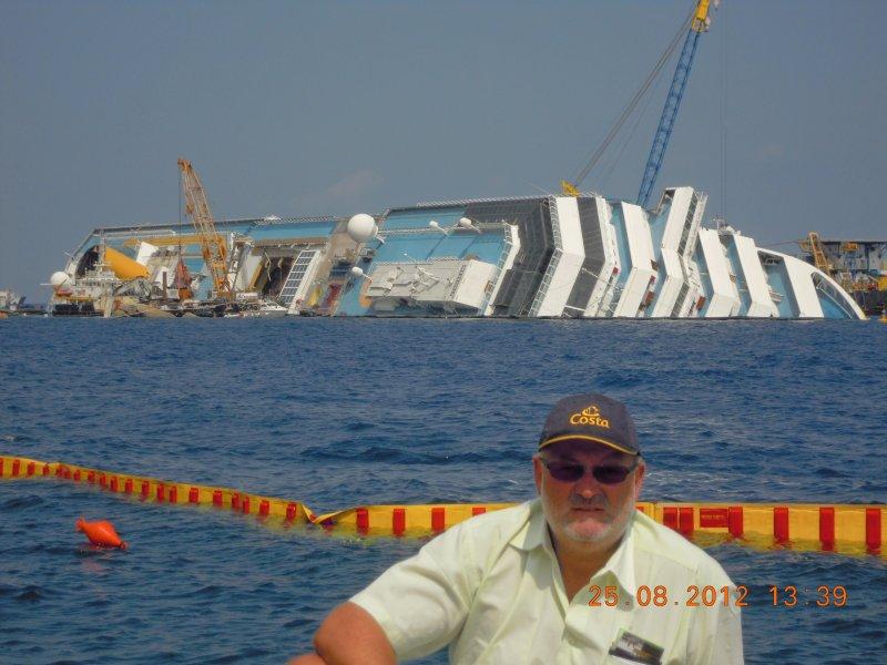 2012 08 25 Urlaub mit Rudi Kampl Insel Giglio Costa Concordia