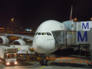 Unser Flieger_zum ersten Mal der Airbus A 380