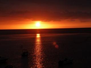 Perfekte Sonnenuntergänge