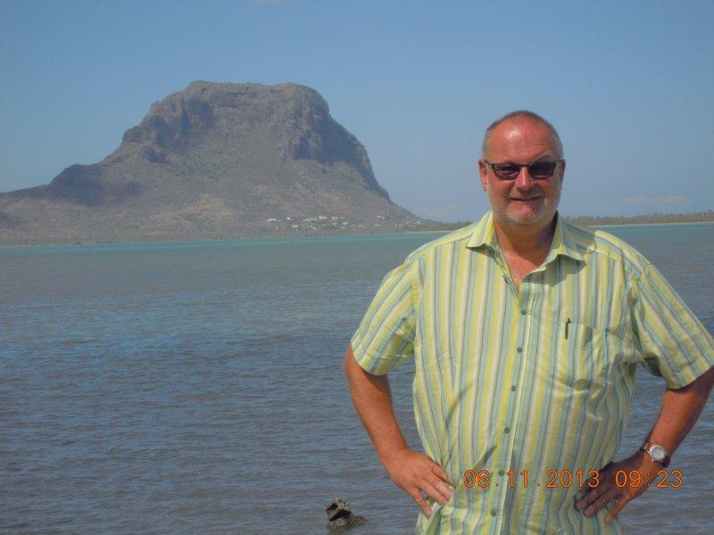 Mauritius 06.11.2013 Berg Le Morne
