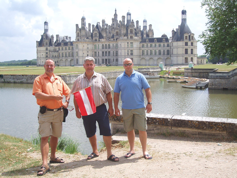 2006 Tours Judo WM Das berühmteste Schloss des Loiretales - Chambord