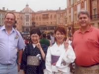 2003-07-01-judo-wm-japan-besuch-disneyland-fans-mit-uns