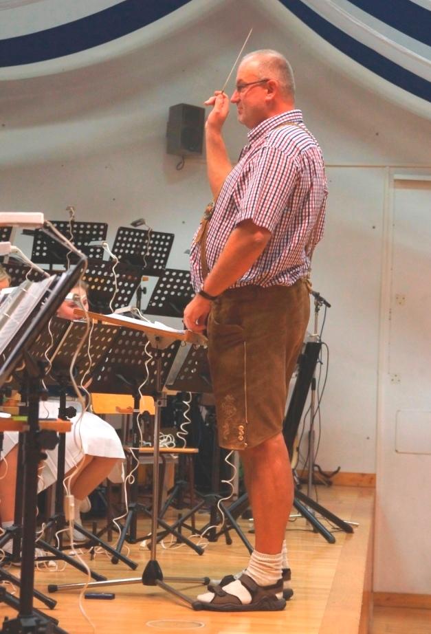 Der Obmann als Dirigent