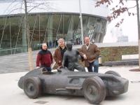 2007 Sindelfingen EM Vor dem Mercedes Museum am nächsten Tag