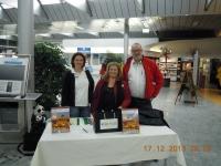Verabschiedung in Linz mit Chefin Karin Klein
