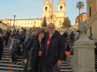 Spanische Treppe mit RL Elisabeta