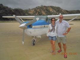 Rundflug über Fraser Island
