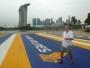 Besuch der weltberühmten Formel I Strecke von Singapur