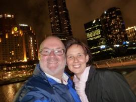 2014 10 19 Melbourne bei Nacht