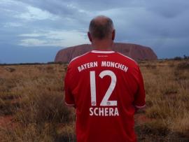2014 10 29 Australien Ayers Rock Uluru hinten