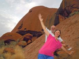 2014 10 30 Ayers Rock zum Anfassen