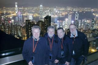 Hongkong Blick vom Peak
