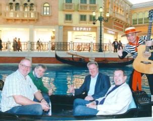 Gondelfahrt im Hotel Venetian in Macao