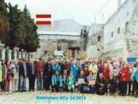 2014 11 24 Bethlehem Geburtskirche Bus orange