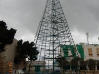 Christliche Weihnachtsdeko in Bethlehem