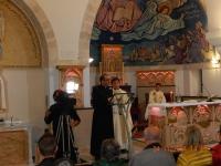 Friedenslichtmesse in der kath. Pfarrkirche