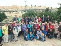 2014 11 23 Jerusalem Garten Gethsemane Bus orange
