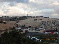 Blick vom Berg Zion zum Ölberg