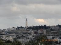 Blick vom Skopusberg auf die Altstadt Jerusalems