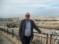 Blick vom Ölberg auf die Altstadt Jerusalems
