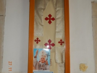 Berg der Seligpreisung  - der Papst war hier