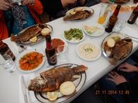 Petrusfisch im Restaurant von Ali am See Genezareth
