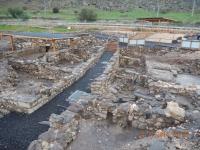 Ausgrabungen in Magdala - einer der ältesten Synagogen der Welt