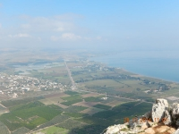 Herrlicher Blick vom Berg Abel