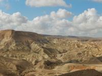 Herrlicher Blick auf die Wüste Zin in Sde Boker