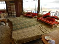 Mittagessen im Beduinenrestaurant Desert Shade