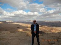 Herrlicher Blick auf den Ramonkrater