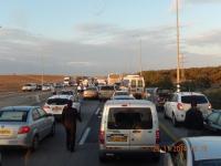 Schwerer Verkehrsunfall bei der Heimfahrt mit 4 Autos