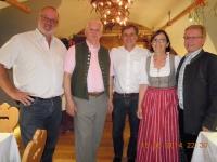 Abendliche Stimmung bei Inge und Klaus Schweiger in Bad Ischl - Neumarkter Gemeindeabordnung