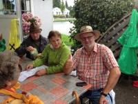 Mittagessen beim Würstlstand Eurospar in Schwanenstadt