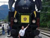 Otto trifft den Kaiserzug in Bad Ischl
