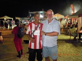 FCBayern Fan beim Musikfestival