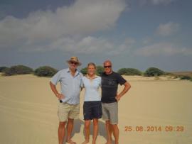 Beim Südausflug mit Tui-Reiseleiterin Madelaine