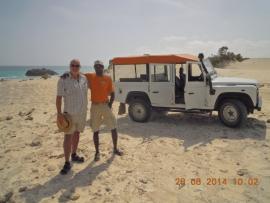 Jeep-Fahrer Costa