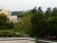Blick vom Balkon imn 3 Stock