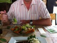 Mittagessen beim urbaniwirt in st urban am ossiachersee