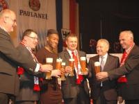 Prost auf Paulaner-Sponsor des FC Bayern