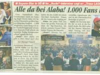 Zeitungsbericht Heute Innenseite