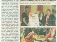 Zeitungsbericht Neues Volksblatt